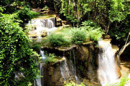 Waterfall at Kanchanabure,Thailand  photo