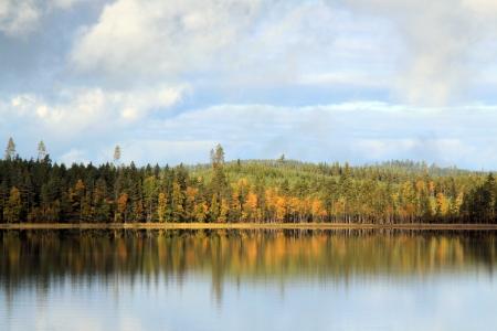 Autumn at Lake Yxen, Leksand, Sweden