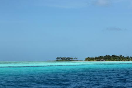 south male atoll: Bodufinolhu  Fun Island , View From Water, South Male Atoll, Maldives