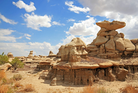 Bisti Badlands  De-Na-Zin Wilderness , New Mexico, USA Imagens