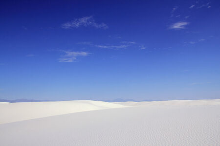 white sands national monument: White Sands National Monument, New Mexico, United States Stock Photo