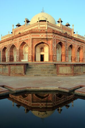 mughal architecture: Humayuns Tomb, New Delhi, India Stock Photo