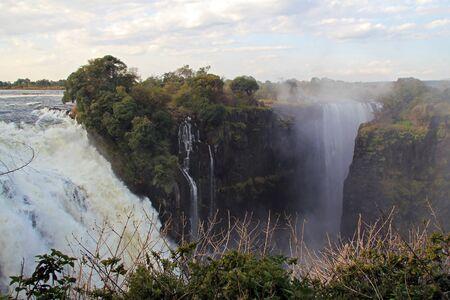 zimbabwe: Cataratas Victoria, Zimbabwe  Foto de archivo