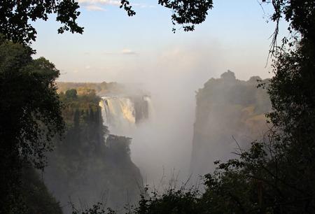 zimbabue: Cataratas Victoria, Zimbabwe  Foto de archivo