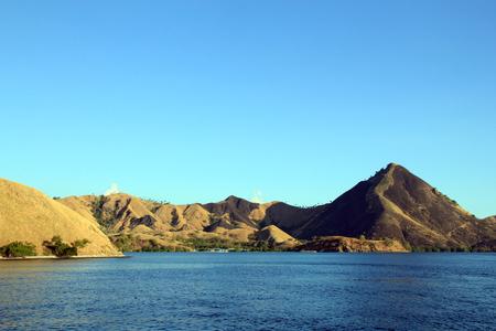 nusa: Komodo National Park, Viewed from the Waterside. Nusa Tenggara, Indonesia.