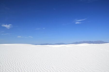 White Sands National Monument. New Mexico, United States