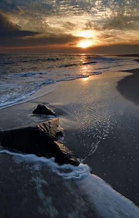 Sunset at Cape May photo