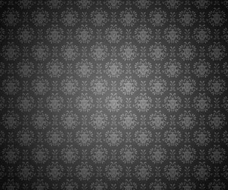 Seamless pattern wallpaper dark Stock Photo - 11702126