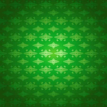Seamless pattern wallpaper green forms photo