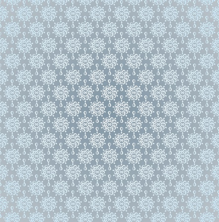 Seamless pattern wallpaper light silver rain drops Stock Photo - 11973035