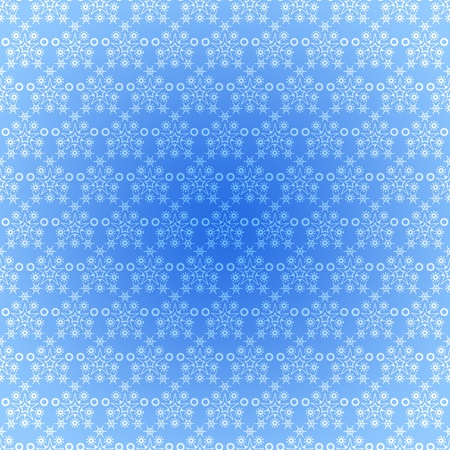 Seamless pattern wallpaper light blue snowflakes photo