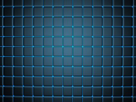 smoothed: 3d abstract background smoothed plates Stock Photo