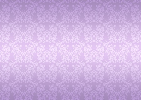 Seamless pattern wallpaper floral bright violet photo