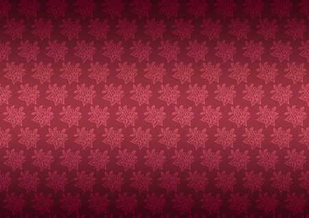 vinous: Seamless pattern wallpaper floral dark vinous
