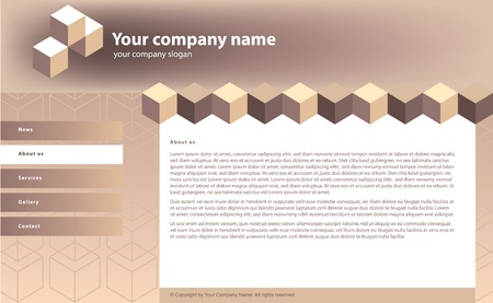 building site: web site template for building business