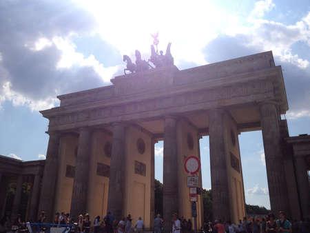 deutschland: Brandenburguer gate, Deutschland, Germany Stock Photo