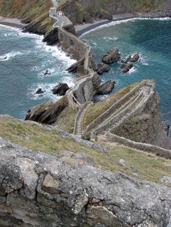 ander: San Juan de Gaztelugatxe, Bermeo, Bizkaia, Basque Country. Ander Izeki Stock Photo