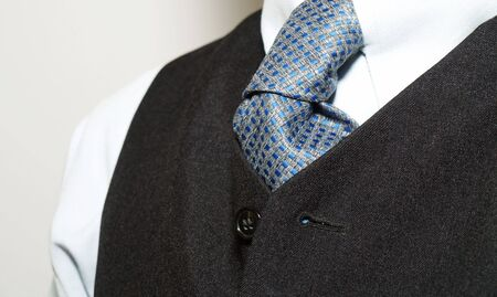 Tie of a  man photo