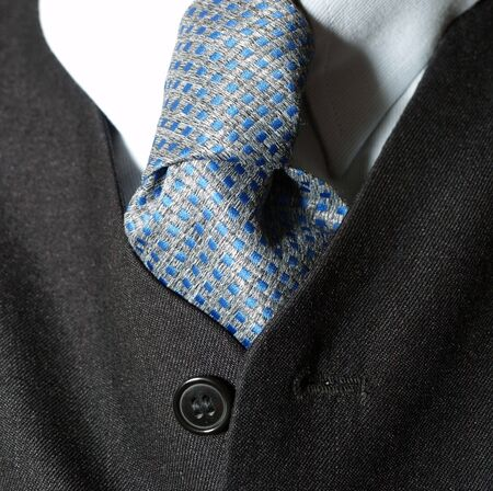 Tie of a business man photo