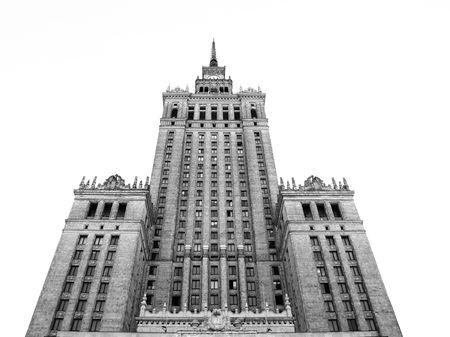 Cultural Palace at Warsaw (Poland) Editorial