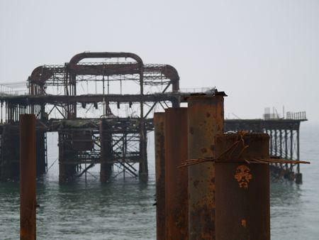 Brighton west pier photo