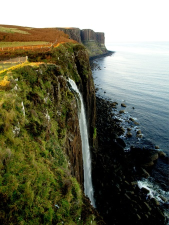 Waterfall of Kilt Rock, Scotland