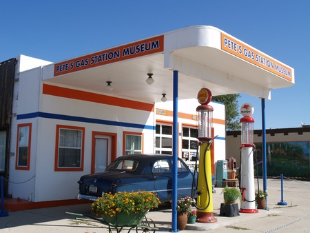 Gas station museum Stock Photo - 13266956