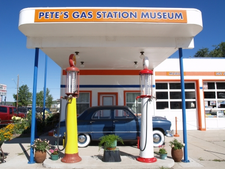 Gas station museum Stock Photo - 13266957