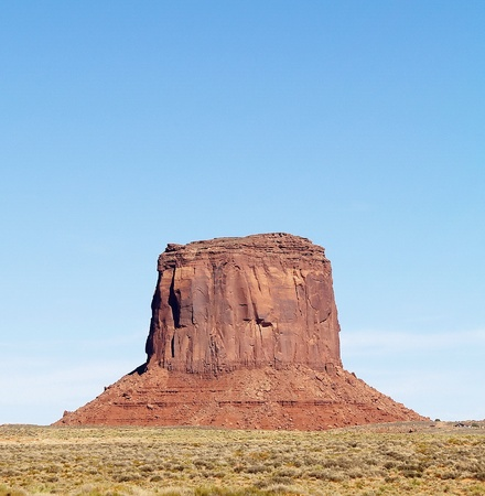 Rock of Monument Valley photo