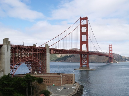 Golden Gate Bridge of San Francisco, California photo