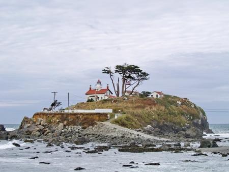 Battery Point Lighthouse, Califonia USA Stock Photo - 14583737