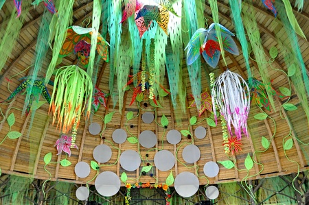 chillout: OZORA - AUGUST 12  Chillout stage of Ozora Festival, one of the greatest psychedelic music gathering in Euorpe  Ozora, Hungary, Europe August 12, 2012