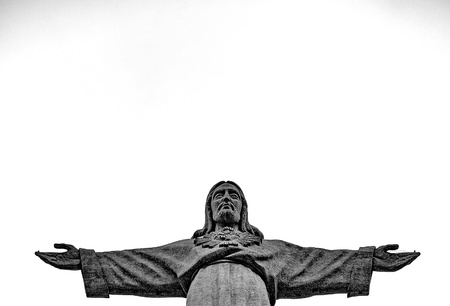 christ the king: Cristo Rei statue of Lisbon