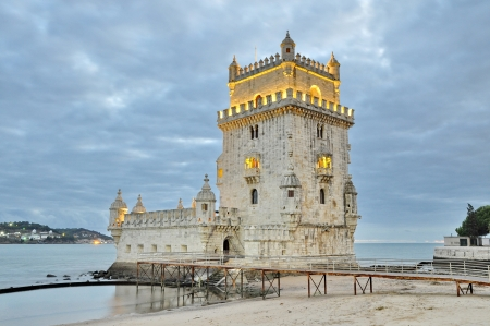 Torre de Bel�m  Bel�m tower  of Lisbon, Portugal Editorial