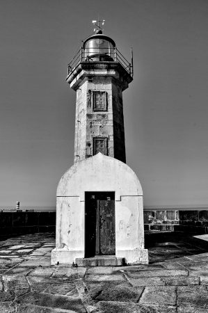 Lighthouse of Porto  Portugal  photo
