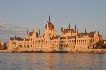 Parliament of Hungary  Budapest  photo