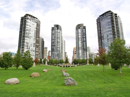 Towers of Vancouver BC, Canada