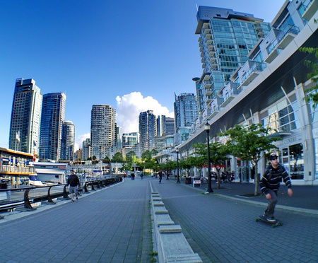Vancouver harbour 新闻类图片