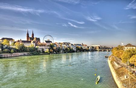 City of Basel in Switzerland