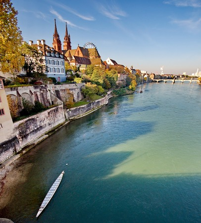 City of Basel in Switzerland