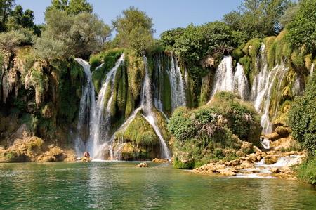 bosnia hercegovina: Kravice waterfalls in Bosnia Herzegovina