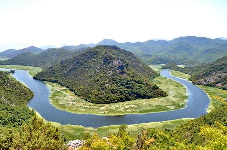 Rijeka Crnojevica in MonteNegro