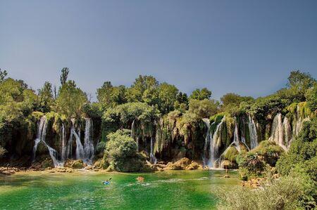 bosnia and hercegovina: Kravice waterfalls in Bosnia Herzegovina