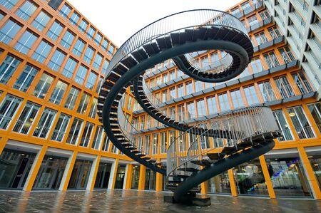 endless: Endless steel stairway