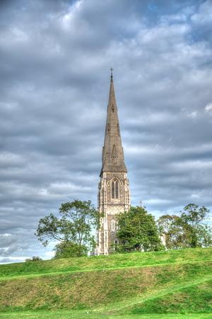 St Alban's Church in Copnehagen, Denmark