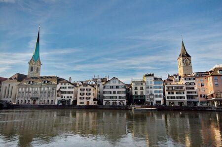 zurich: Center of Zurich, Switzerland Editorial