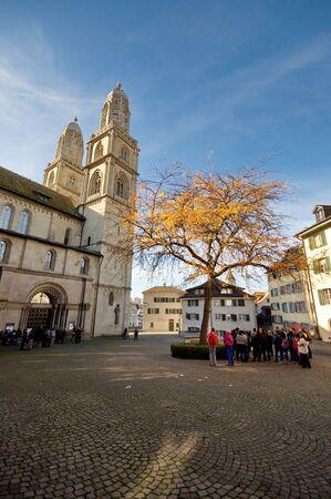 zurich: Cathedral of Zurich, Switzerland