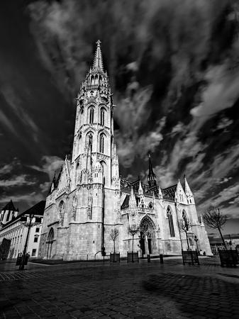 matthias church: Matthias Church in Budapest, Hungary