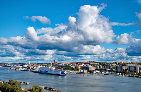 Gothenburg city in Sweden