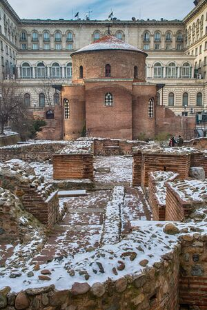 Rotunda of St George the Victoriousin Sofia, Bulgaria